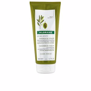 Hair repair conditioner - Shiny hair products THICKNESS&VITALITY conditioner with essential olive extract Klorane