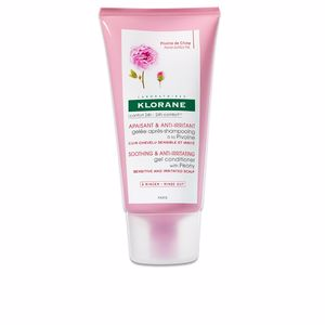 Acondicionador desenredante - Acondicionador reparador - Acondicionador brillo SOOTHING&ANTI-IRRITATING gel conditioner with peony Klorane