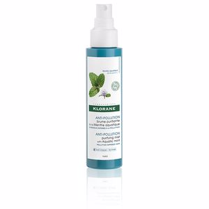 Shiny hair  treatment ANTI-POLLUTION purifying mist with aquatic mint Klorane