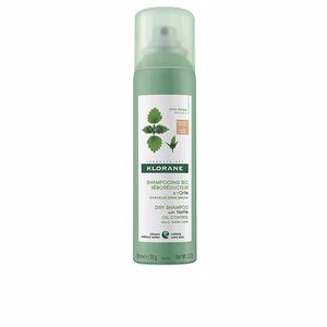 Champú en seco DRY SHAMPOO with nettle oil control oily, dark hair Klorane