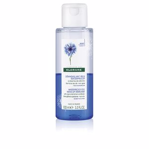 Desmaquillante WATERPROOF EYE MAKE-UP REMOVER organically farmed cornflower Klorane