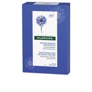 Dark circles, eye bags & under eyes cream SMOOTHING AND RELAXING PATCHES with soothing cornflower