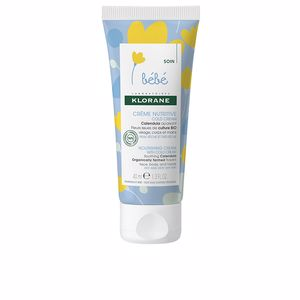 Body moisturiser - Baby cream & kids cosmetics BEBÉ NOURISHING CREAM with cold cream Klorane