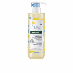 Hygiene for kids - Shower gel BEBÉ GENTLE CLEANSING GEL soothing calendula Klorane