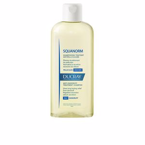 Antischuppenshampoo SQUANORM anti-dandruff treatment shampoo oily hair Ducray