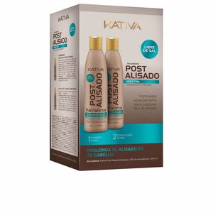 Hair straightening shampoo POST ALISADO PROFESIONAL SET Kativa