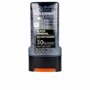 Purifying shampoo - Shower gel - Facial cleanser MEN EXPERT gel ducha black mineral L'Oréal París