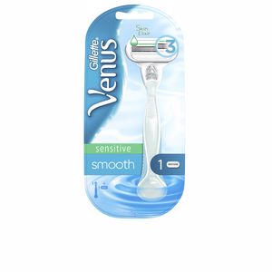 Maquinilla VENUS SMOOTH SENSITIVE máquina + 1 recambio Gillette