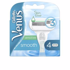 Razor blades VENUS SMOOTH SENSITIVE cargador Gillette