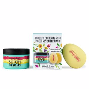 Hair gift set SOUTH BEACH HAIR MASK SET Nuggela & Sulé