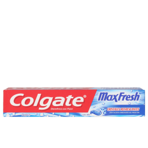Dentifrice MAX FRESH azul pasta dentífrica Colgate