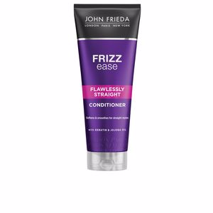 Hair straightening products - Anti frizz hair products FRIZZ-EASE acondicionador liso perfecto John Frieda