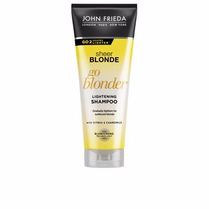 Champú color SHEER BLONDE champú aclarante John Frieda