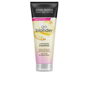 Shampoo für gefärbtes Haar SHEER BLONDE champú aclarante John Frieda