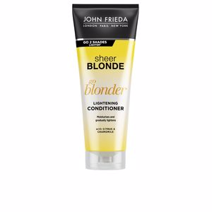 Acondicionador color  SHEER BLONDE acondicionador aclarante John Frieda