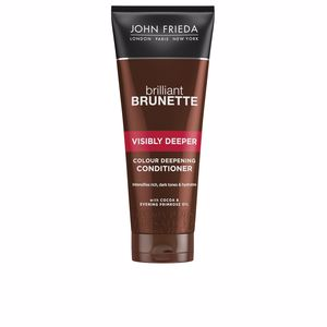 Conditioner for colored hair BRILLIANT BRUNETTE acondicionador intensificador color John Frieda