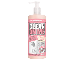 Shower gel CLEAN ON ME creamy clarifying shower gel Soap & Glory