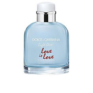 Dolce & Gabbana LIGHT BLUE POUR HOMME LOVE IS LOVE limited edition  perfume