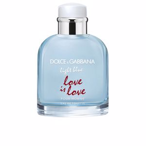 Dolce & Gabbana LIGHT BLUE POUR HOMME LOVE IS LOVE limited edition  parfüm