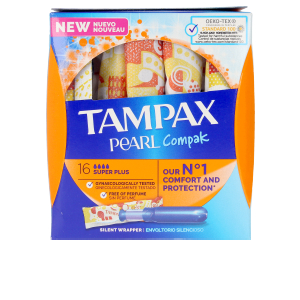 Tampons hygiéniques TAMPAX PEARL COMPAK tampon super plus Tampax