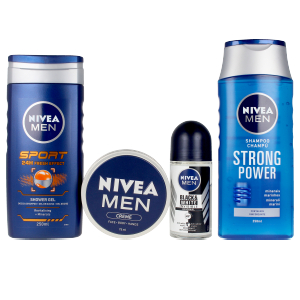 Champú volumen MEN GYM NECESER LOTE Nivea