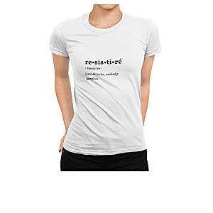 Camisetas RESISTIRÉ camiseta Pandemia De Valores