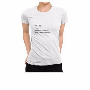 T-Shirt CASA camiseta.