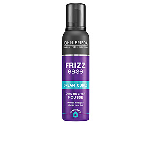 Producto de peinado FRIZZ-EASE espuma rizos revitalizados John Frieda