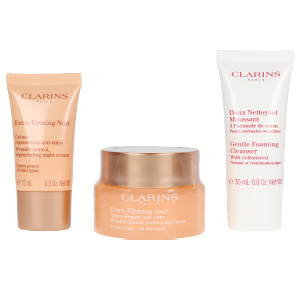 Anti aging cream & anti wrinkle treatment EXTRA FIRMING SET Clarins