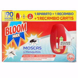Insecticides  BLOOM MAX MOSCAS & MOSQUITOS apto.eléctrico Bloom