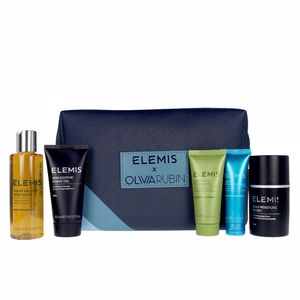Bath Gift Sets - Skincare set MEN'S LUXURY TRAVELLER SET Elemis