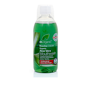 Mouthwash ALOE VERA enjuague bucal Dr. Organic