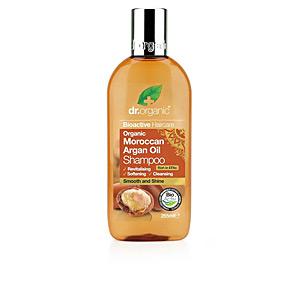 Shampoo for shiny hair - Moisturizing shampoo ARGÁN champú de aceite Dr. Organic