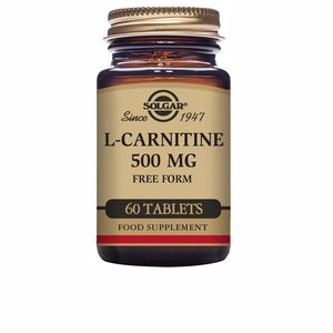 Amino-acids and proteins L-CARNITINA 500 mg Solgar