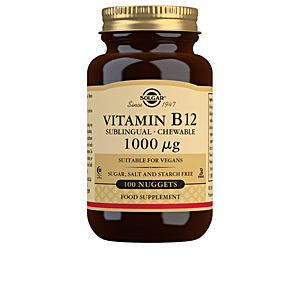 Vitamines VITAMINA B12 1000mcg.(CIANOCOBALAMINA) cápsulas masticables Solgar
