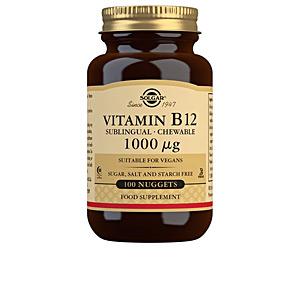 Vitamins VITAMINA B12 1000mcg.(CIANOCOBALAMINA) cápsulas masticables Solgar