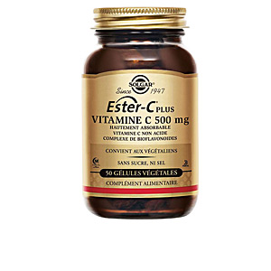 Vitamines ESTER-C PLUS 500mg. cápsulas vegetales