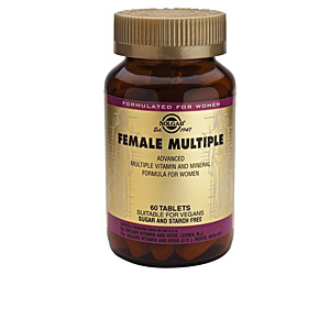 Minerals and trace elements - Vitamins FEMALE MULTIPLE comprimidos Solgar