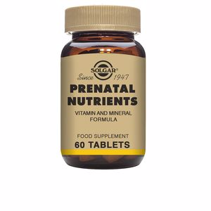 Minerals and trace elements NUTRIENTES PRENATALES Solgar