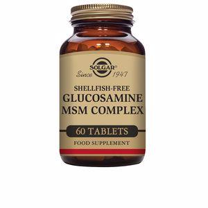 Otros suplementos GLUCOSAMINA MSM COMPLEX Solgar
