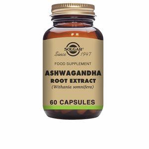 Otros suplementos ASHWAGANDHA – Raíz – (Whitania somnifera) Solgar