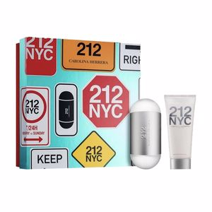Carolina Herrera 212 NYC FOR HER SET perfum