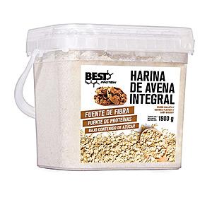 Harinas y cereales AVENA harina integral #plátano Best Protein
