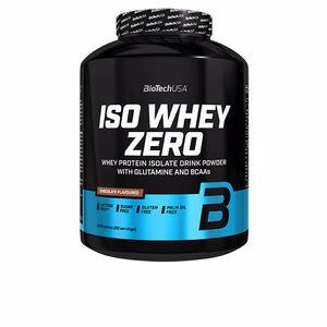 Isolated whey protein ISO WHEY ZERO proteína sin gluten #banana Biotech Usa
