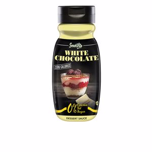 Sauces and seasonings WHITE CHOCOLATE dessert sauce sin calorías Servivita