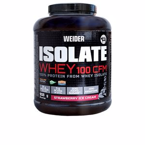 Proteína de suero aislada ISOLATE WHEY 100 CFM strawberry ice cream Weider