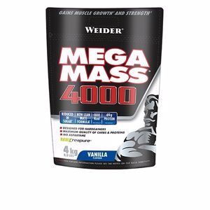 Suplemento voluminizador MEGA MASS 4000 vainilla Weider