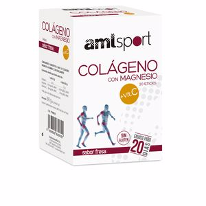 Collagen - Vitamins COLÁGENO CON MAGNESIO + VIT.C sabor fresa