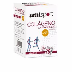 Collagen - Vitamins COLÁGENO CON MAGNESIO + VIT.C sabor fresa Amlsport