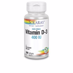 Vitaminen VITAMIN D3 400 UI Solaray
